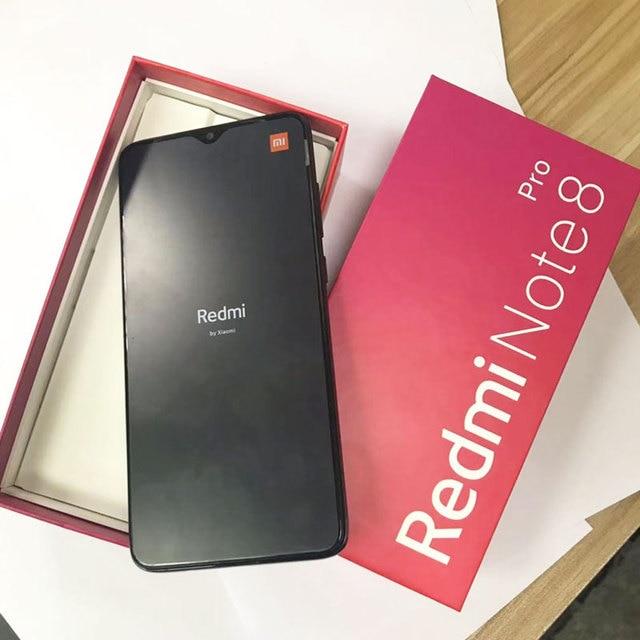 "Global ROM Original Xiaomi Redmi Note 8 pro 8GB 128GB MTK Helio G90T Smartphone 6.53"" 18W 64MP Quad Rear Camera 4500mAh"