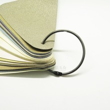 8PCS 50MM ring buckle iron loose-leaf diy card circle binding curtain