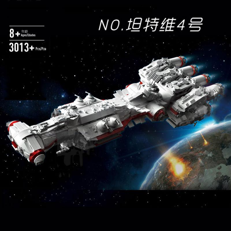Mould King 21003 Star Toys Wars MOC 10308 Blockade Runner (Tantive IV) Model Building Blocks Bricks Kids Christmas Gifts 05046
