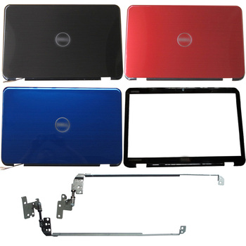 NEW For DELL Inspiron 15R N5110 M5110 M511R Laptop LCD Back Cover/Front Bezel/Hinges 00KXW3 new laptop lcd top cover lcd front bezel for dell tobii alienware 17 r4 0pn5xv 05gvp2 a and b shell