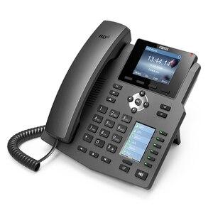 Image 4 - Fanvil x4/x4g ip 전화 엔터프라이즈 voip 전화 hd 음성 사무실 sip 전화 지원 ehs 무선 헤드셋 무선 고정 전화