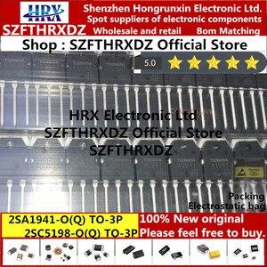 Image 3 - 100% nuovo originale 2SA1941 O(Q) 2SC5198 O(Q) TO3P 2SA1941 2SC5198 A1941 C5198 TO 3P Bipolar transistor 25PCS/Tubo (10set = 20pcs)