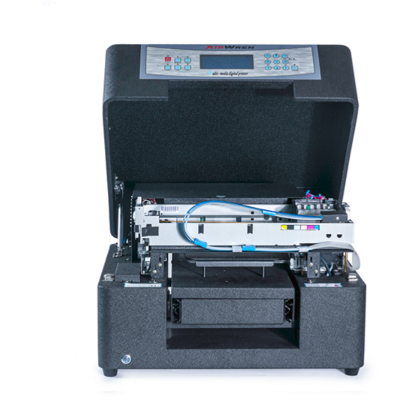 A4 DTG Printer Multifunctional Flatbed Garment Printer For T-shirt Automatic Inkjet Printing Machine Factory Price