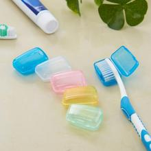 5PCS Portable Travel Toothbrush Cover Case Camping Tooth Brush Soft Toothbrush Hygie Cleaner Brush Cap TXTB1