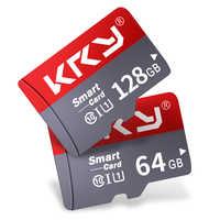 KRY Original high speed memory card 64GB micro sd card Class 10 128GB portable flash TF card 32GB 16GB 8GB For driving recorder