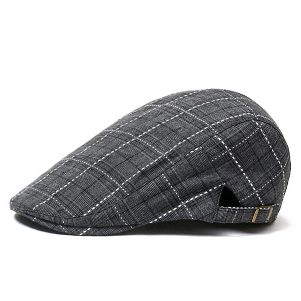 Мужские Повседневное Гэтсби плющ шляпа на открытом воздухе Гольф обувь для вождения на плоской подошве берет таксист драйвер с закруглённы...