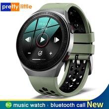 Neue 8G Speicher Musik Smart Uhr Männer Bluetooth Anruf MT 3 Wasserdichte Sport Fitness Smartwatch Voll Touch Screen Für Android IOS