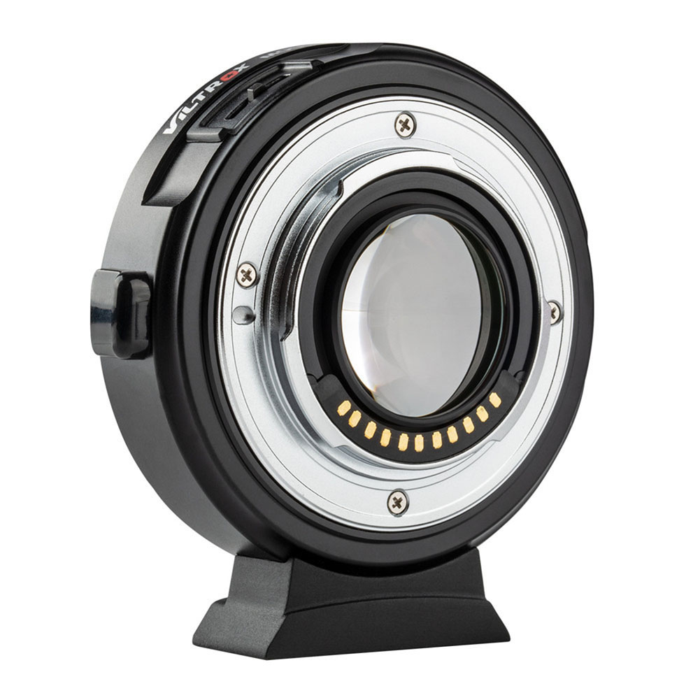 Купить с кэшбэком Mirrorless Camera Viltrox EF-M2II 0.71x Auto Focus Lens Mount Adapter for Cano-n EF to M4/3 Camera Lens Mount Ring Adapter