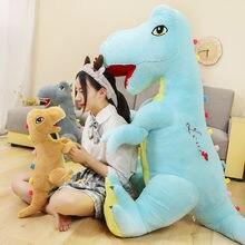 Хит милая Имитация Динозавра плюшевые игрушки мягкие хобби мягкая