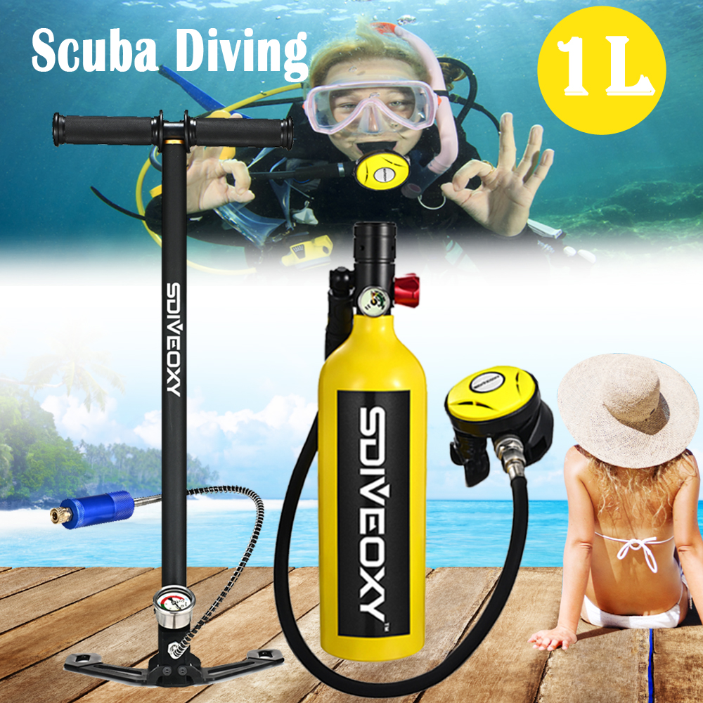 Diving equipment Scuba diving sdiveoxy respirator portable snorkeling water sports equipment snorkeling Sambo spare oxygen tank(China)
