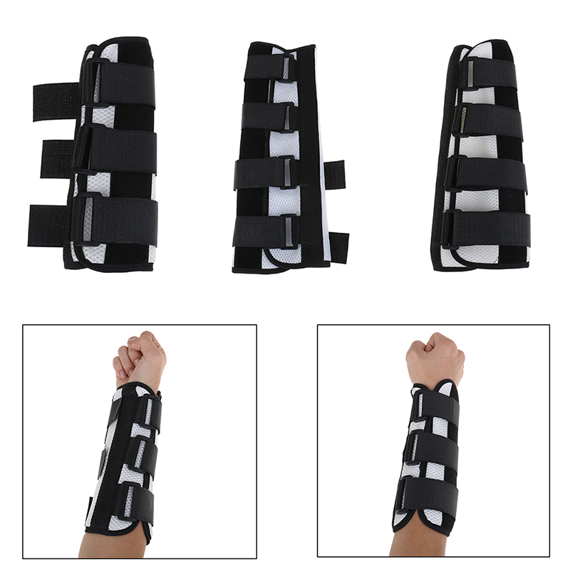 Breathable Elbow Joint Arm Support Brace Protector Upper Limb Rehabilitation Splint S/M/L Size