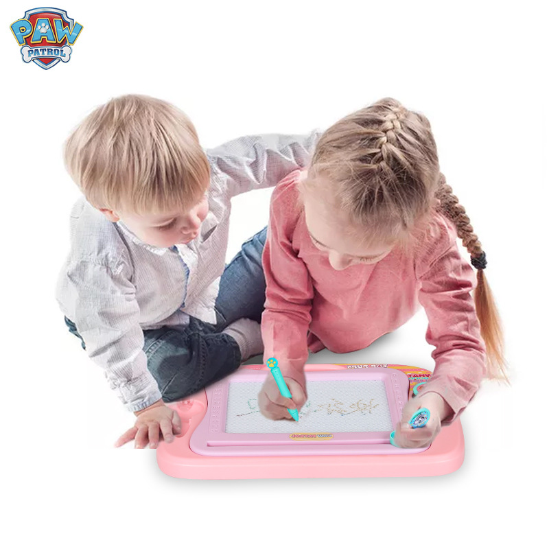 Paw Patrol University Work Genuine Product Magnetic Color Multi-functional Sketchpad Creative Science Educational Children Birth
