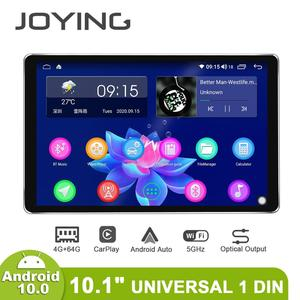 """Image 4 - 1280*800 1Din 10.1 """"Universele Android10 Auto Stereo Radio Dsp Carplay Dsp Spdif Subwoofer 5Gwifi Optische Uitgang bluetooth 5.1 Dab"""