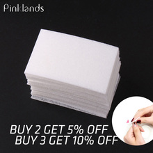 100Pcs Lint-Free Nail Wipes Napkin For Manicure Nail Gel Polish Removal Wraps Cotton Nail Polish Remover Nail Art Tools