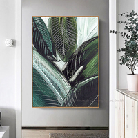 Abstract art acrylic paintings green still life lienzos cuadros decorativos wall art picture home decoration pinturas al oleo