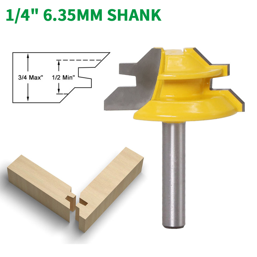 6mm Shank Dia 20mm Cutting Dia 2-Flute Ball End Round Carving Router Bit Cutter