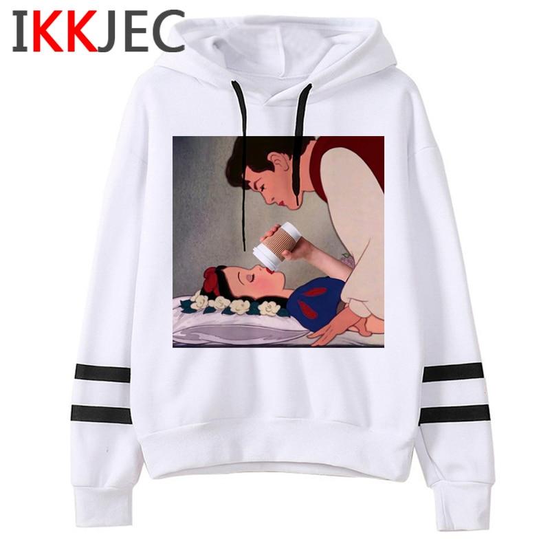 Aesthetic Harajuku Funny Cartoon Hoodies Women/men Grunge Princesses Vintage Sweatshirt 90s Graphic Fashion Hoody Female/male 6