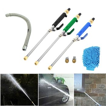 Car high pressure cleaning water gun garden water gun Car High Pressure Water Gun Jet Garden Washer Watering Spray Cleaning Tool image