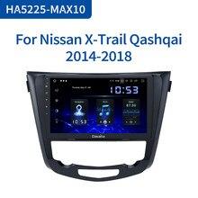 Dasaita coche Multimedia Android 10,0 para Nissan X-Trail Qashqai j11 j10 Radio 2014, 2015, 2016, 2017, 2018, 2019 GPS 10,2