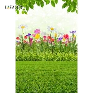 Image 5 - Laeacco Verblasst Blumen Holz Boden Frühling Landschaft Ostern Baby Portrait Fotografie Kulissen Foto Hintergründe Für Foto Studio
