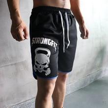 Popular running shorts men's sports jogging shorts fitness shorts quick-drying men's fitness shorts men's sports fitness shorts