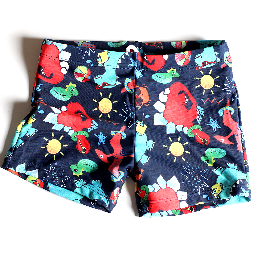2020 Swim Trunks For Boys Summer Beach Shorts Printed Cartoon Swimming Trunks Kids Boys Bathing Suit