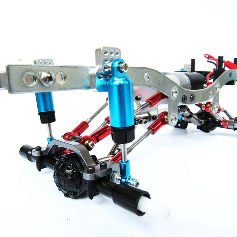 Wpl Upgrade DIY Upgrade Parts Set Shock Sbsorbers Extension Seat For RC CAR WPL Truck C14 C24 Wpl C24 Upgrade