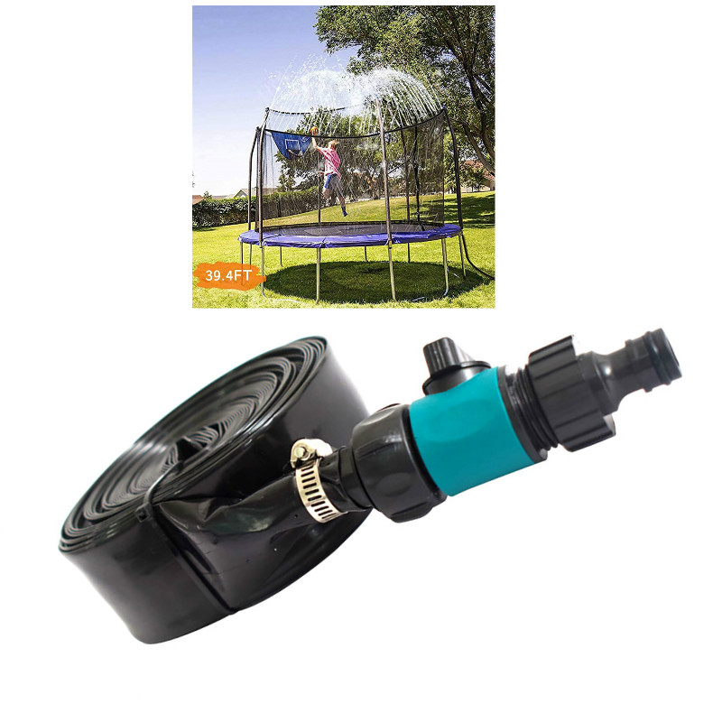 Trampolin Sprinkler Dauerhafte Sichere Trampolin Sprinkler Multifunktionale Wasser Kühlung Rohr Spielzeug Für Outdoor Garten Hof Park
