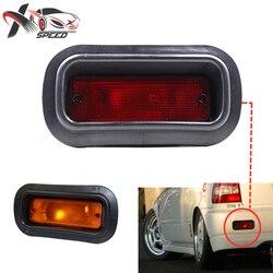 Универсальный Флип красного и оранжевого цвета, опционально для Honda Civic c, интеграционный аксессуар d EK9 EK4 EG6 DC2 стойка JDM USDM