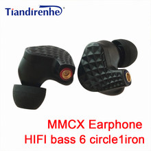 Neue Hybrid Kopfhörer Stereo 6BA + 1DD MMCX HIFI Ohrhörer Nach Maß MMCX Kopfhörer DJ Monitor Headset