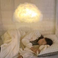 Diy ручной работы Милый хлопковый светильник в форме облака