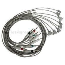 Совместимость philips pagewriter TC30, TC50 TC70 4-leadwires, IEC,-> 3,15 мм штекер, Limb lead 1 м