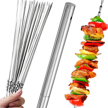Skewers Gadgets Forks Grill Kitchen-Accessories-Tools Shish Kebab Barbecue Stainless-Steel