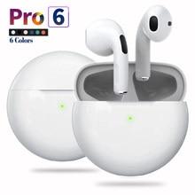 Fones de ouvido sem fio bluetooth tws fones com microfone caso carregamento ipx7 à prova dhifi água redução ruído alta fidelidade som