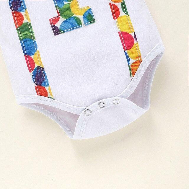 Garçons vêtements nouvel an vêtements mon premier nouvel an fille garçon vêtements infantile nouveau-né bébé 1 anniversaire lettre nœud papillon + ceinture pantalon tenue