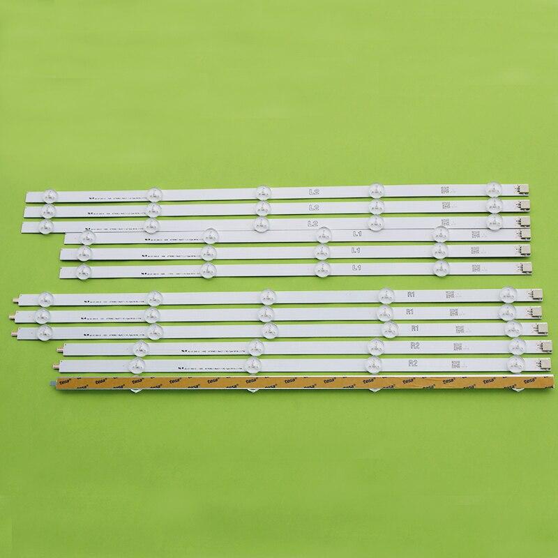 12 pièces/ensemble LED bande pour LG 47