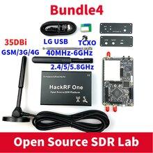هاكرف واحد SDR البرمجيات تعريف الراديو 1MHz إلى 6GHz طقم لوحة التجريبي