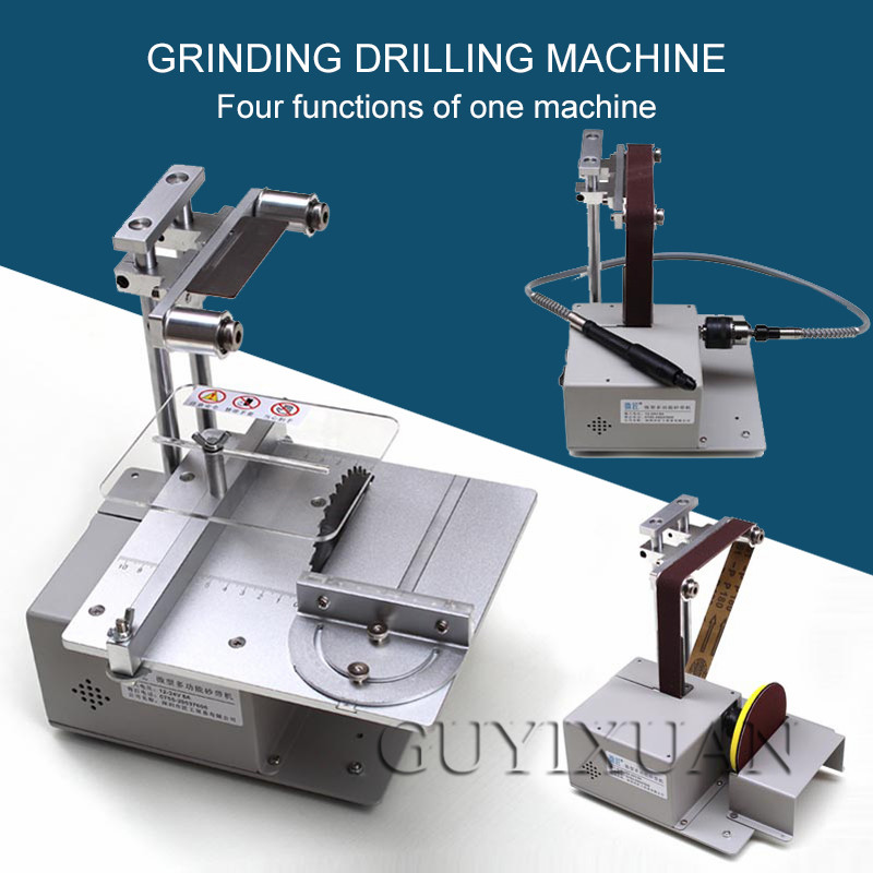DIY Multi-function Mini Small Cutting Machine Punching Small Table Saw Micro Chainsaw Tabletop Precision Saw