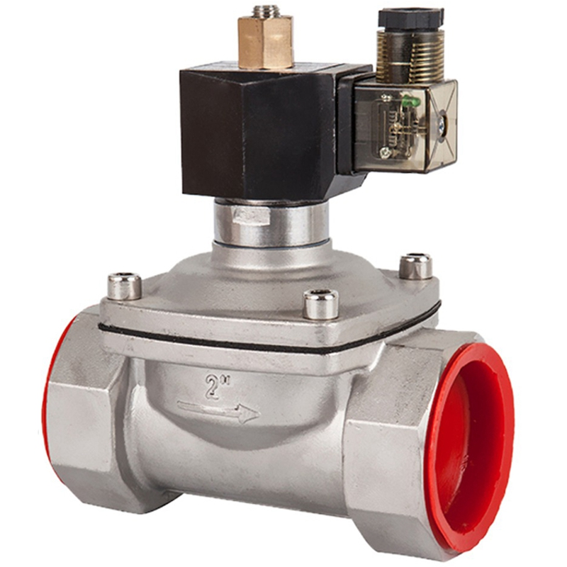 Stainless Steel Normally Open Electric Solenoid Valve, Water Gas Oil Pneumatic Valve