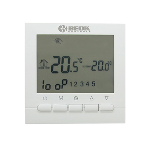 Image 4 - BOT 313W Programmierbare Batterie Power Zimmer Digitaler Thermostat für Gas Kessel Heizung Temperatur Control Wand Thermostat