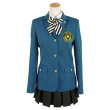 цена на Cossky Hifumi Togo Cosplay Costume KOSEI High School Uniform Jk Uniform Women Girl Cosplay Dress