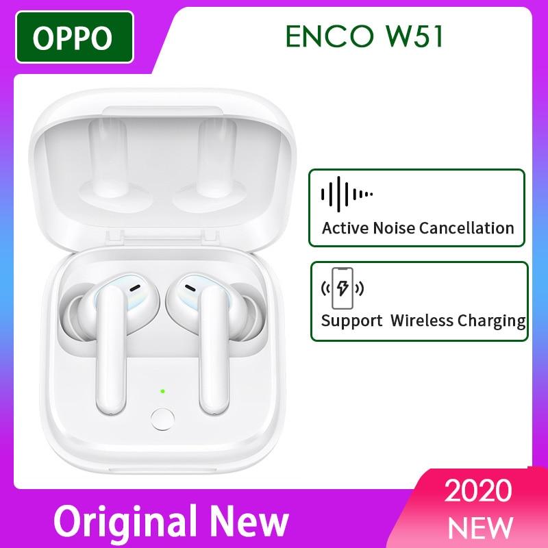 Tws-наушники eti02 ENCO W51 OPPO Enco W31, Беспроводная Bluetooth-гарнитура Reno ace 3 Pro 2z 2f 10x zoom Find x2 a5 a9