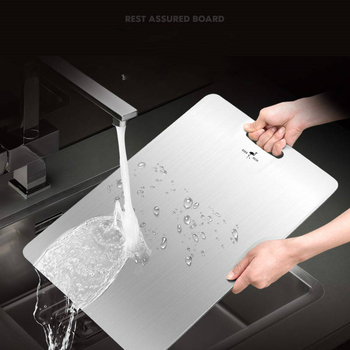 German 304 stainless steel cutting board domestic antibacterial film Moho cutting kitchen board image