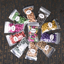 40pcs/Bag Incense Cones For Backflow Waterfall Tower Colorful Bullet Shape Natural Fragrance