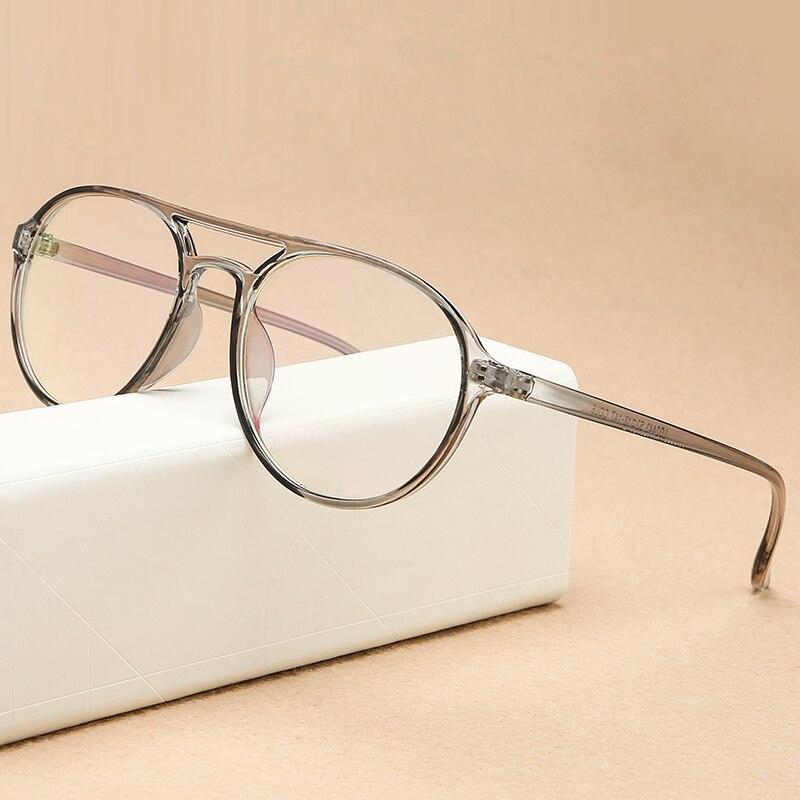 KOTTDO Round Reading Glasses Frame Men Plastic Computer Transparent Retro Eye Glasses Frames For Woman Glasses Optical Frames