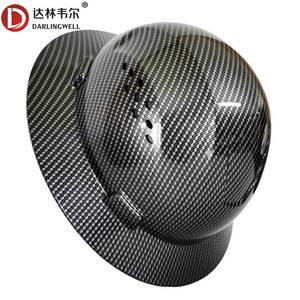 Full Brim Safety Helmet Fashion Hard Hat Summer Sunshade Lightweight High Strength Work Cap Construction Railway Metallurgy Mine