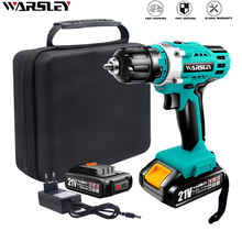 Power-Tools Screwdrivers Battery-Drive Cordless-Drill Torque Adjustable Lithium-Ion 21V