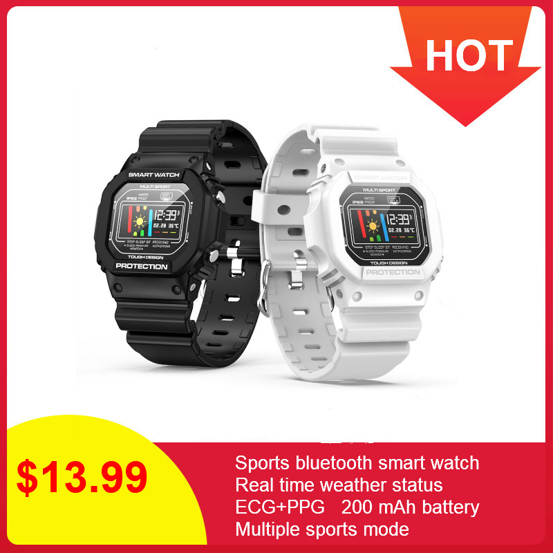 696 <font><b>X12</b></font> ECG+PPG Smart Watch Ip68 Waterproof Fitness Sport Watches For Ios Android Heart Rate Monitor Blood Pressure <font><b>Smartwatch</b></font> image
