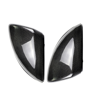 Replacement For Mercedes Benz C Class W205 2015 2016 1 Pair Car Side Mirror Carbon Fiber Protective Cover Trim Caps