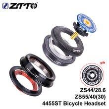 Ztto 4455st mtb bicicleta de estrada fone de ouvido 44mm 55mm cnc 1 1/8